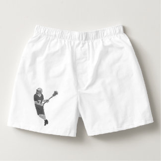 Malle Lacrosse Player (gray) Boxers