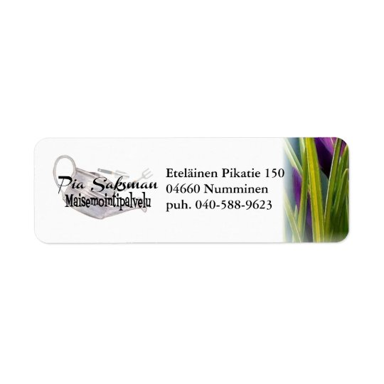 malli return address label