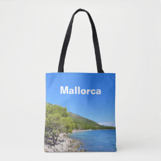 Mallorca Bay of Formentor Souvenir Tote Bag