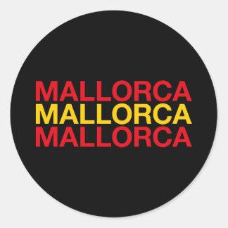 MALLORCA CLASSIC ROUND STICKER