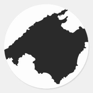 mallorca contour icon stickers