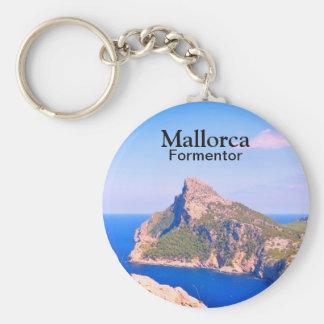 Mallorca Formentor Travel Souvenir Keychain