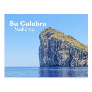 Mallorca, Sa Calobra Rock Travel Postcard