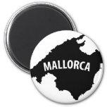 mallorca spain contour icon refrigerator magnets