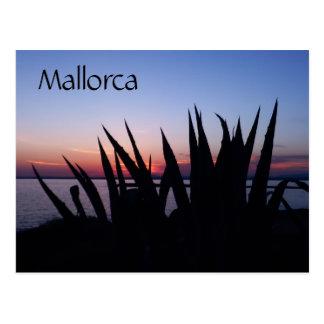 Mallorca Sunset, Spain Postcard
