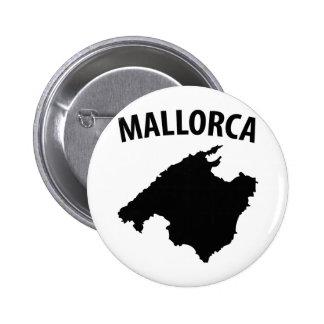 mallorca symbol 2 inch round button