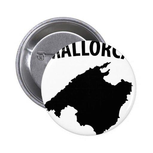mallorca symbol pinback buttons