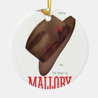 Mallory Magic Ceramic Ornament
