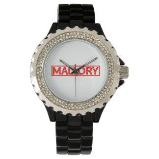 Mallory Stamp Watch