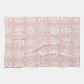 Mallow Mandala Kitchen Towel