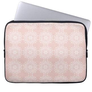 Mallow Mandala Laptop Sleeve