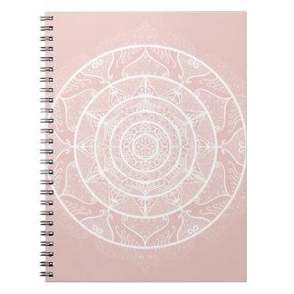 Mallow Mandala Notebook