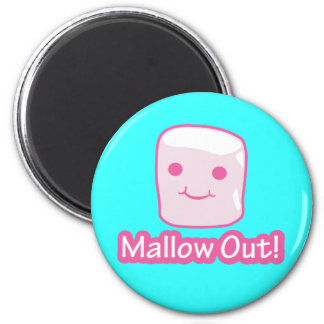 Mallow Out! Magnet