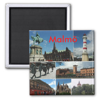 Malmo1, Malmö Square Magnet