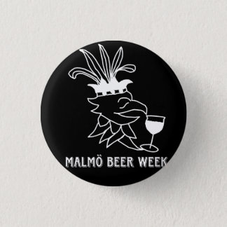 Malmö Beer Week bath give 1 Inch Round Button