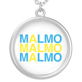 MALMO SILVER PLATED NECKLACE