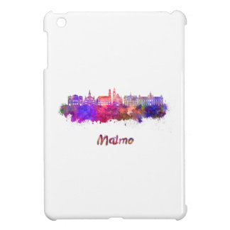 Malmo skyline in watercolor iPad mini cover