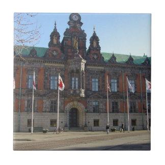 Malmö Sweden - City Hall Tiles