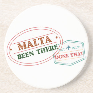 Malta Been There Done That Coaster