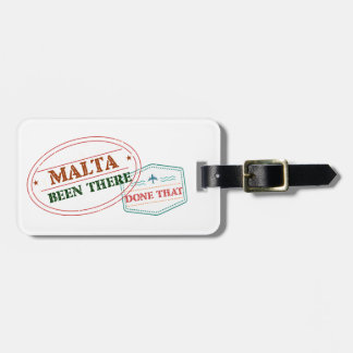 Malta Been There Done That Luggage Tag