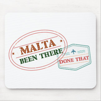 Malta Been There Done That Mouse Pad