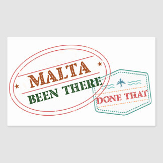 Malta Been There Done That Sticker