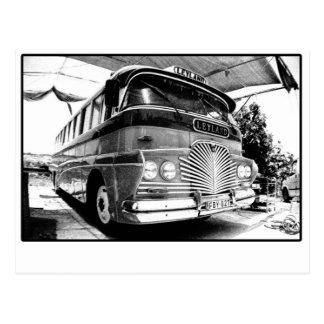 Malta Bus Postcard
