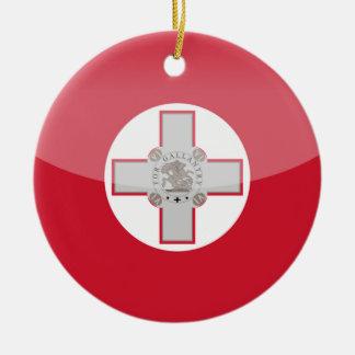malta ceramic ornament