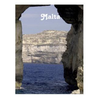 Malta Coast Postcard