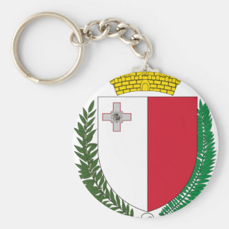 Malta coat of arms keychain