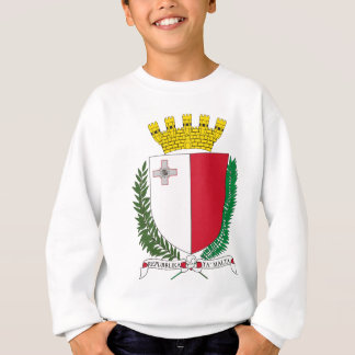 Malta coat of arms sweatshirt
