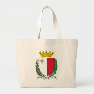 malta emblem large tote bag