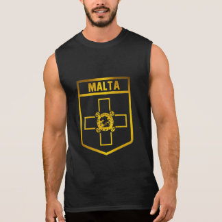 Malta Emblem Sleeveless Shirt
