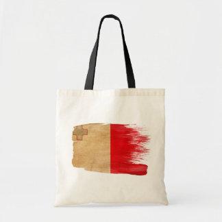 Malta Flag Canvas Bags
