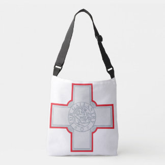 Malta Flag Crossbody Bag