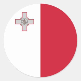 Malta Flag Sticker