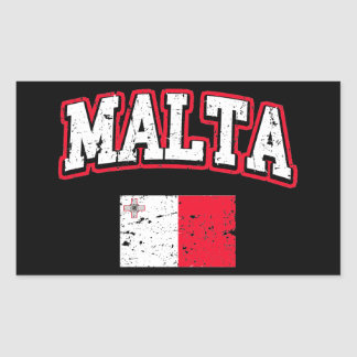 Malta Flag Sticker