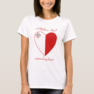 Malta Flag Sweetheart T-Shirt