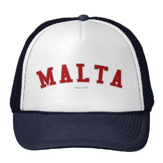 Malta Trucker Hats