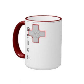 Malta maltese flag mug