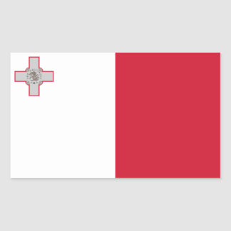 Malta/Maltese Flag Sticker