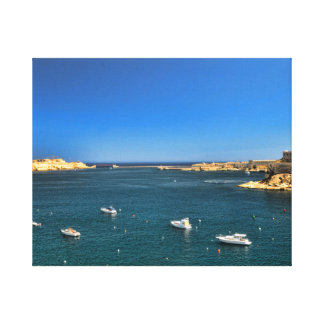 Malta View Canvas Print