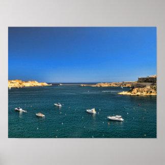 Malta View Poster