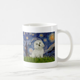 Maltese 11 - Starry Night Coffee Mug