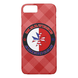 Maltese American Cross Ensign Cell Phone Case
