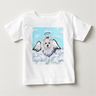 Maltese Angel Baby T-Shirt
