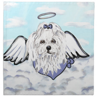 Maltese Angel Napkin
