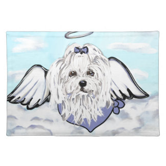 Maltese Angel Placemat