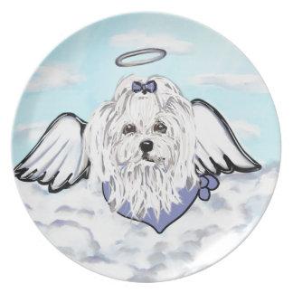 Maltese Angel Plate