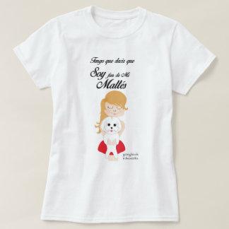 Maltese Bichón, basic T-shirt for woman, Target